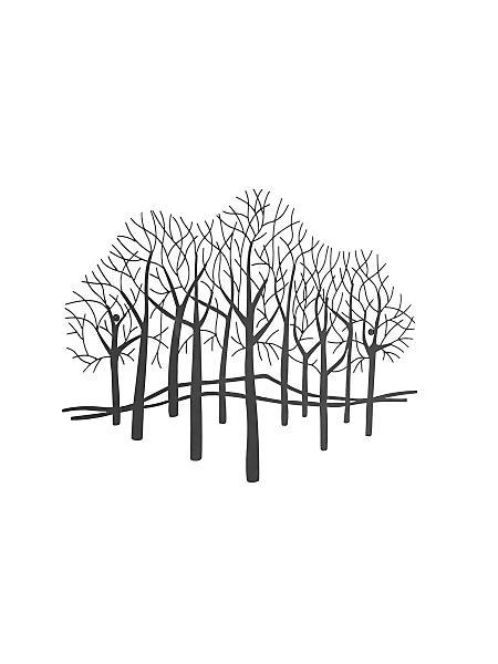 helline home - Décoration murale arbres