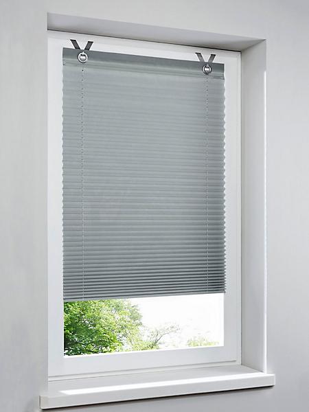 helline home - Store plissé opaque, réglable sans palier