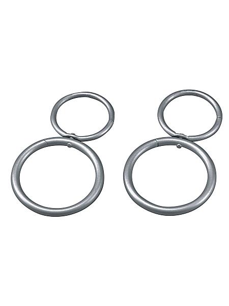 helline - Lot de 2 anneaux déco
