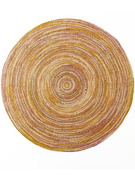 helline home - Tapis en sisal rond, joli dégradé de couleur