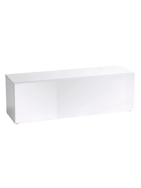 helline home - Enfilade basse design en bois verni effet miroir