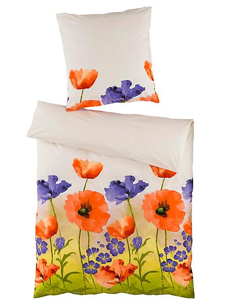 helline home - Linge de lit avec imprimé coquelicot