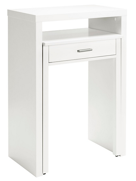 helline home - Bureau gigogne en bois, un tiroir