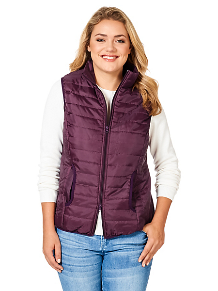 Sheego Casual - Gilet matelassé sheego Casual