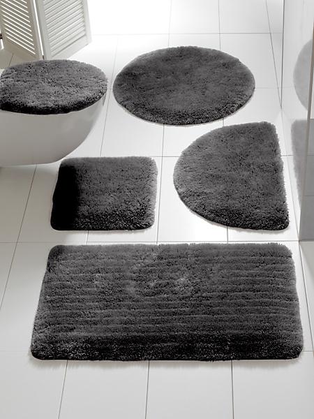 helline home - Tapis de bain uni doux et moelleux antidérapant
