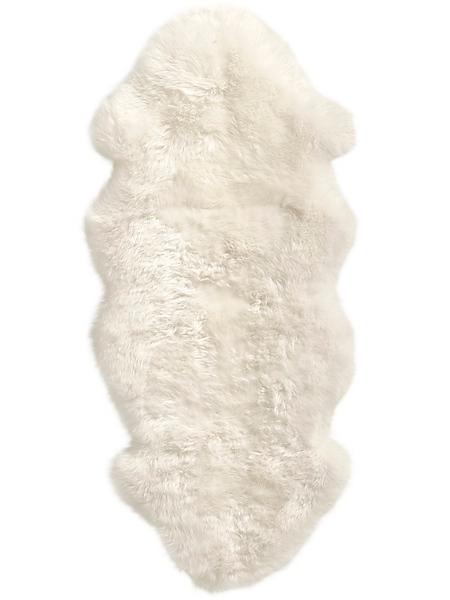 helline home - Tapis en fourrure d'agneau véritable, fibres épaisses