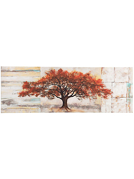 helline home - Tableau panoramique toile fantaisie nature châssis bois