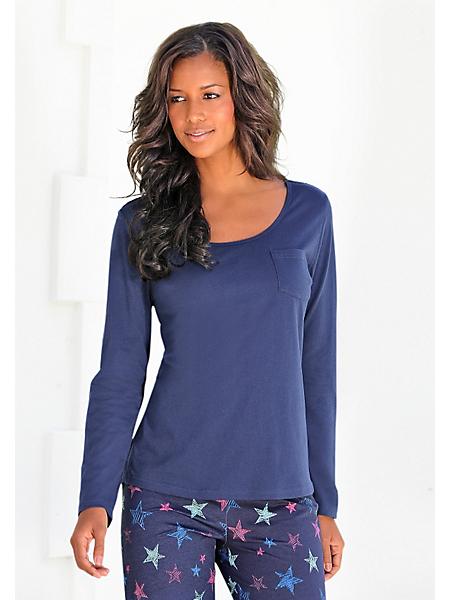 PETITE FLEUR - T-shirt à manches longues 'Paradise', de Petite Fleur, qualité maille jersey douce en 100% coton