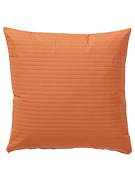 helline home - Housse de coussin en coton, effet rayé et matelassé