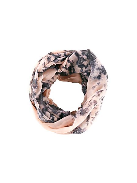 helline - Foulard tube léger à imprimé marbre tendance pour femme