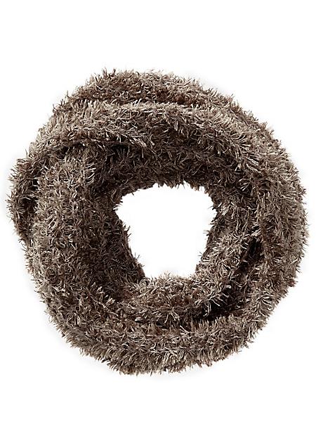 Collezione Alessandro - Echarpe tube chaude et confortable en tricot doux