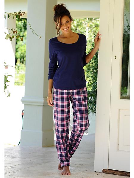PETITE FLEUR - Pantalon de pyjama très mode 'Paradise', de Petite Fleur, facile à combiner