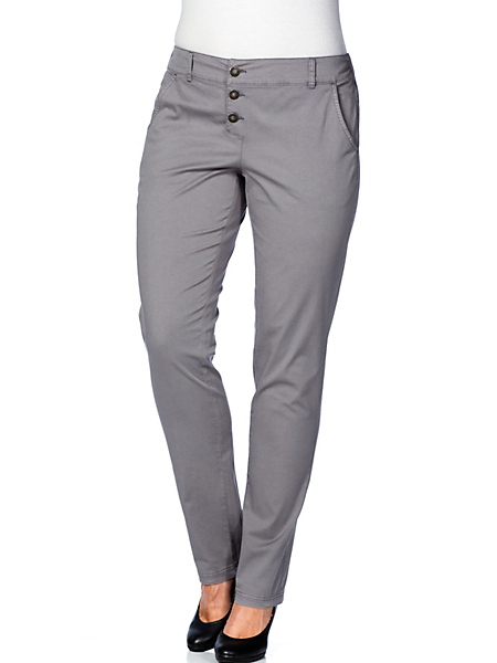 Sheego Casual - sheego Casual : Pantalon stretch