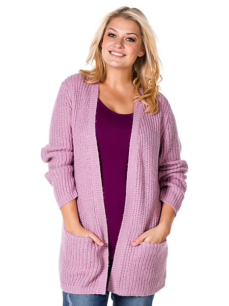 Sheego Casual - Gilet en tricot moelleux Sheego Casual