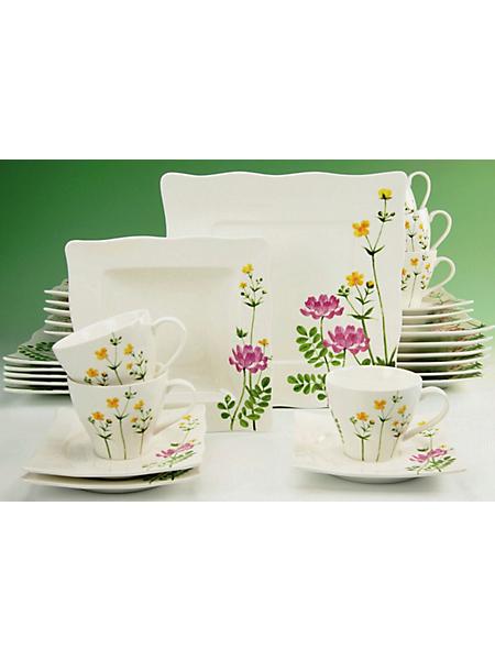 CREATABLE - Service complet en porcelaine, »Eva Wiesenblume« (30 pièces)