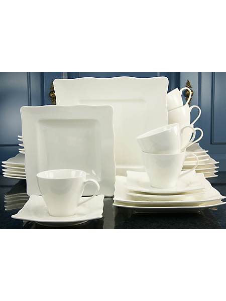 CREATABLE - Service complet en porcelaine, »EVA« (30 pièces)