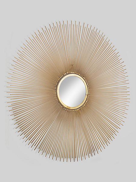 KARE Design - Miroir ovale, cadre en tiges de métal