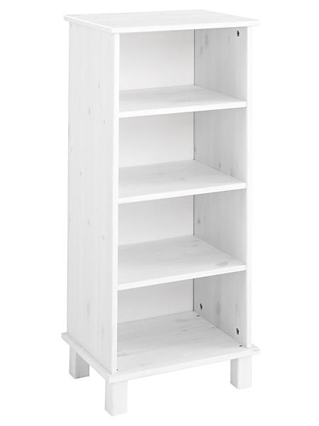 helline home - Petite étagère simple en épicéa, 4 niches