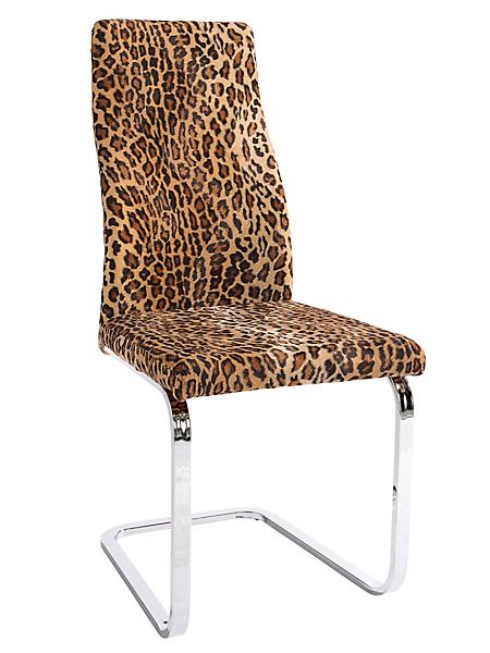helline home - Chaise cantilever avec assise et dossier rembourrés