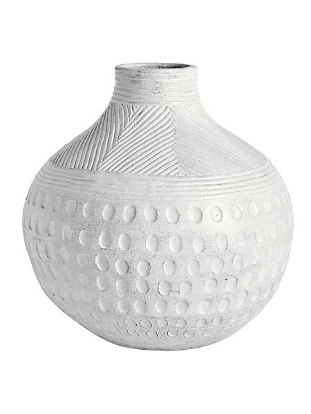 helline home - Vase décoratif en terre cuite, fabrication artisanale