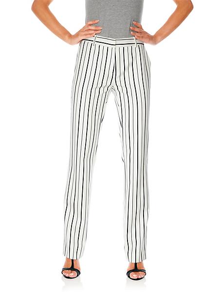 Ashley Brooke - Pantalon ample femme, forme classique à rayures