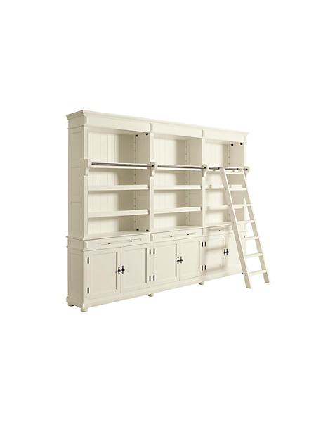 Biblioth ques et meubles modulables helline - Meuble bibliotheque avec echelle ...