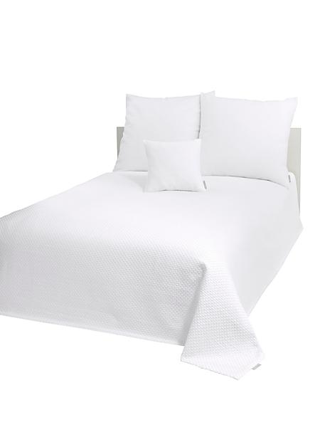 helline home - Couvre lit classique en coton gaufré, style élégant
