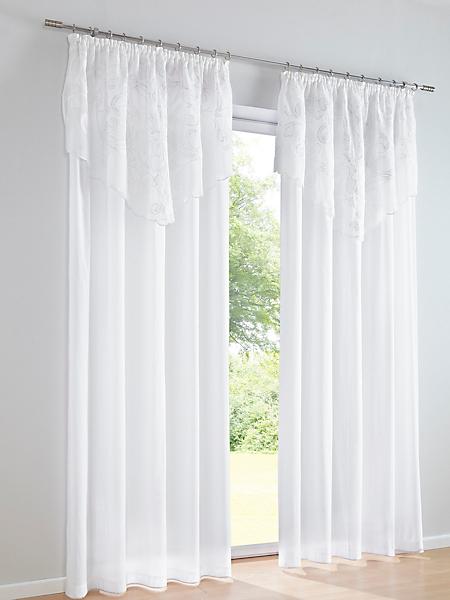 helline home - Rideau avec fine bordure et double épaisseur
