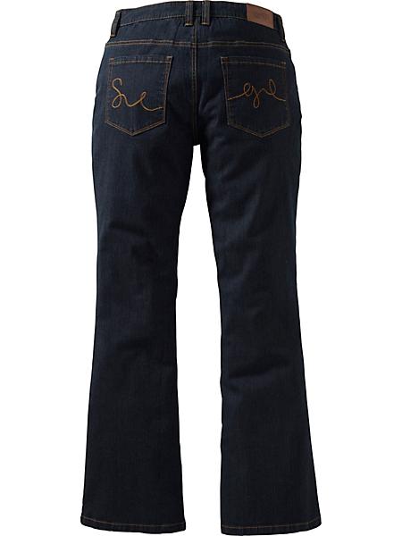 SHEEGO DENIM - sheego denim : Jean stretch, »évasé«