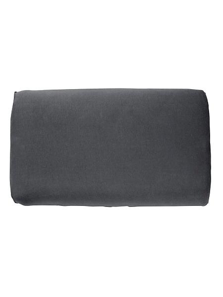 Schlafgut - Taie d'oreiller unie tendance en jersey, taille unique