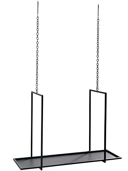 helline home - Etagère à suspendre au design épuré, en métal