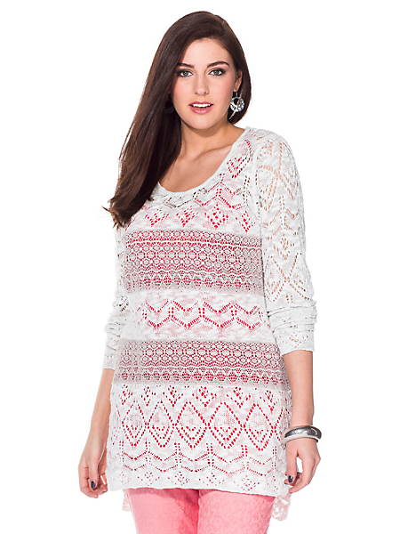 Sheego Style - Pull-over long sheego Style