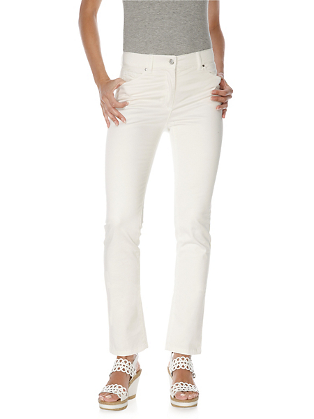 Ashley Brooke - Pantalon slim, taille basse, matière élastique seyante