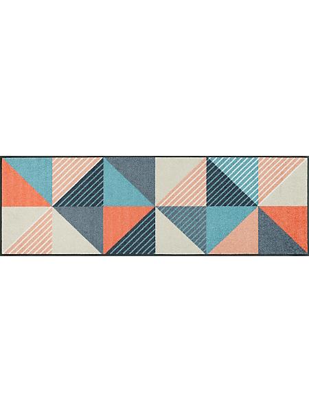 wash+dry by Kleentex - Tapis à imprimé losange style patchwork, antidérapant