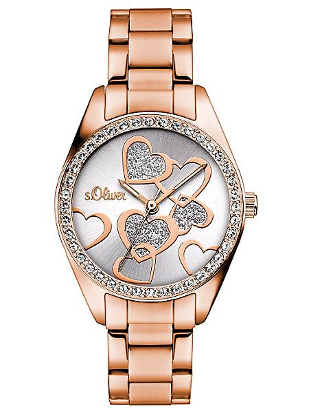 S.OLIVER RED LABEL - Montre-bracelet s.Oliver, »SO-3140-MQ«