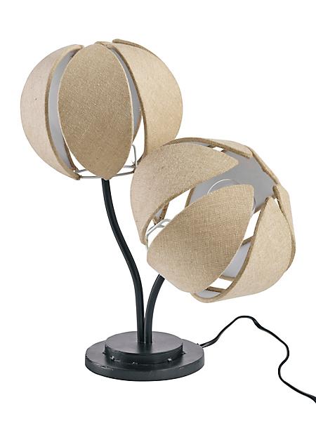 helline home - Lampe de table, 2 flammes