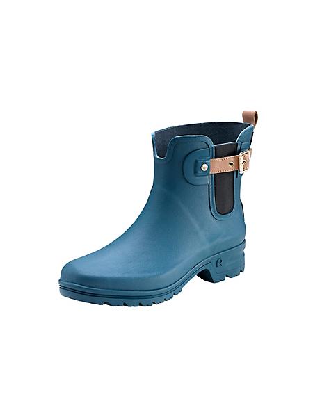 helline home - Bottes de pluie basses, couleur unie femme