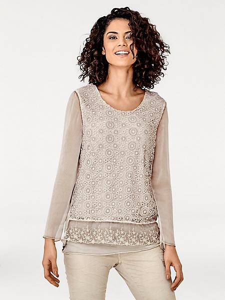 Linea Tesini - T-shirt chemisier