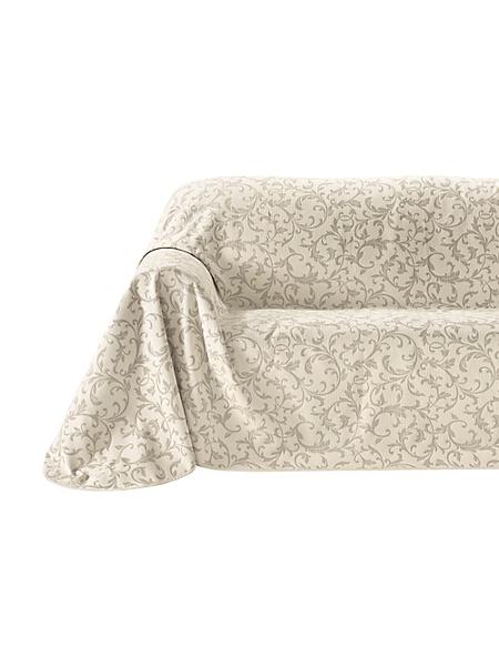 helline home - Jeté de canapé avec un beau motif floral baroque