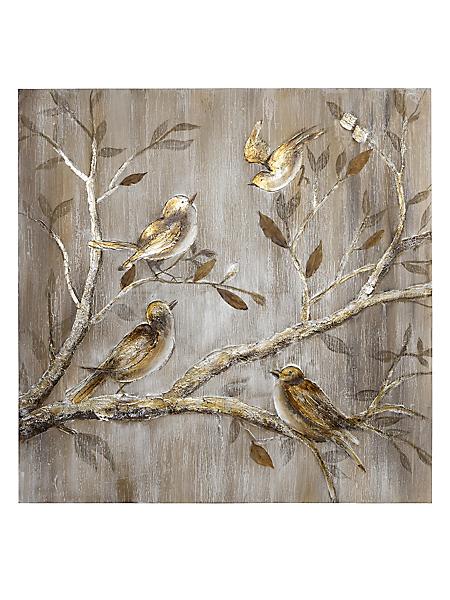 """helline home - Peinture orginale """"oiseaux"""""""