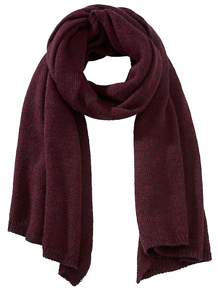 Collezione Alessandro - Echarpe chaude en laine et maille tricôtée pour femme