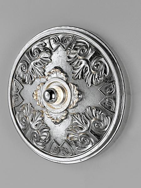 helline home - Plafonnier décoratif à moulures élégantes, forme ronde