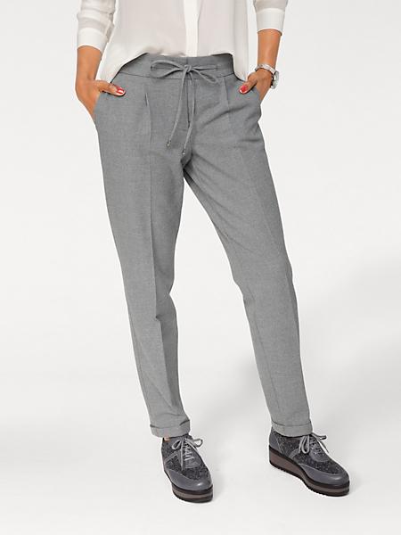 B.C. Best Connections - Pantalon chino à pinces, petit revers