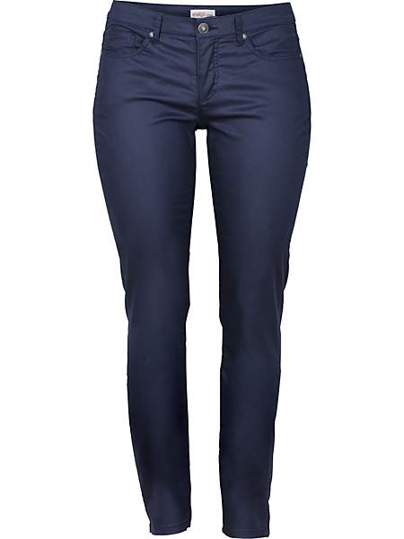 Sheego Casual - Pantalon étroit extensible style 5 poches Sheego Casual
