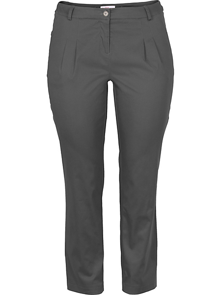 Sheego Casual - Pantalon chino en coton extensible Sheego Casual