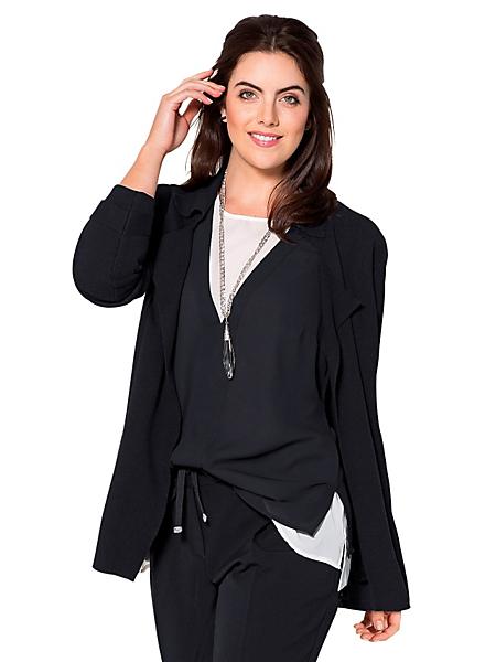 Sheego Class - Gilet en tricot avec col dégagé sheego Class
