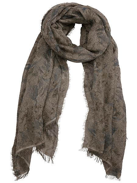 Passigatti - Echarpe chaude et élégante en laine à motifs discrets
