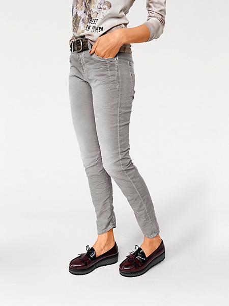 MAC - Pantalon jean femme en matière souple, style casual