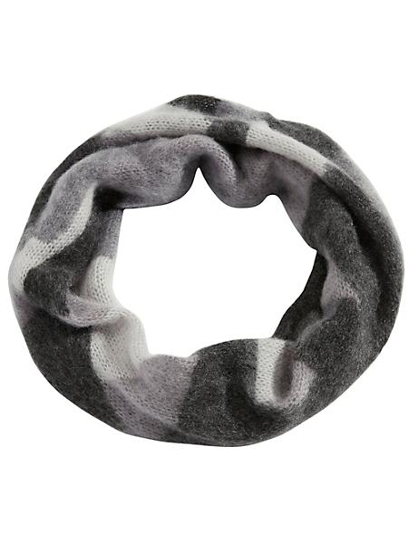 helline - Snood femme en maille tricotée douce, imprimé tendance
