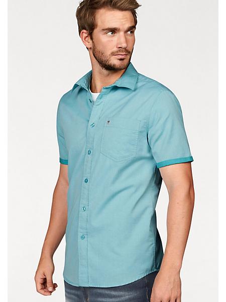 RHODE ISLAND - RHODE ISLAND overhemd met korte mouwen